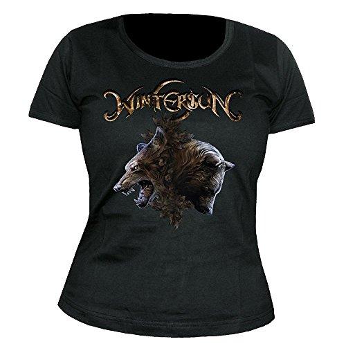 Wintersun - Animals - Girlie - Shirt Größe XL