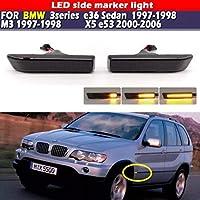 AL ダイナミック ターンシグナルライト サイド マーカー フェンダー シーケンシャル ランプ ウインカー 対応車種: BMW E36 M3 AL-JJ-5900