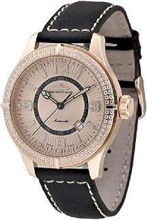 Zeno Watch Basel - Reloj para Hombre Analógico Automático con Brazalete de Cuero 8854-Pgr-h9