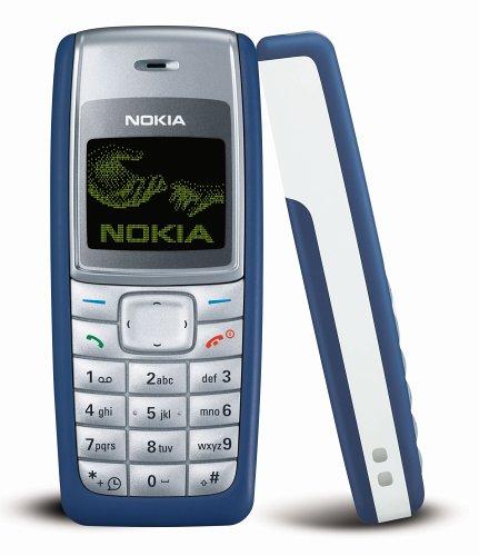 Amazon Com Nokia 1110i 4mb Classic Gsm Only No Cdma Cell Phone Blue International Version With No Warranty