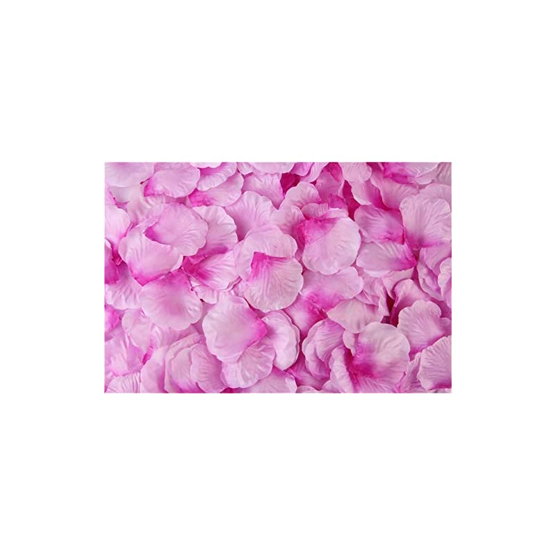 silk flower arrangements hjq's store 1000 pieces light with dark lilac silk rose petals artificial flower petals for wedding and the any other ocasions
