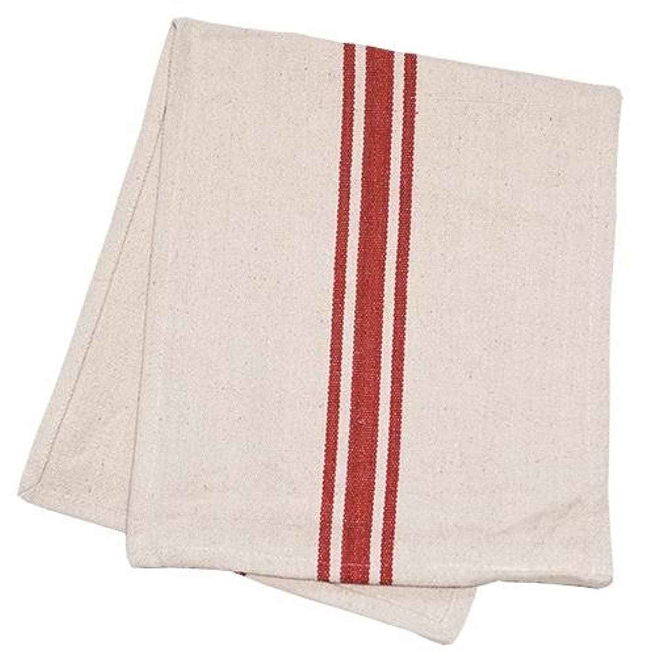 Heart of America Grain Sack Red Stripe Long Runner