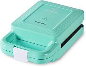 Elektrische multifunctionele ontbijtmachine, 650 W, met anti-aanbaklaag, sandwiches, wafelfabrikant, verwarming, braden, b...