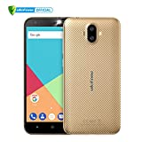 ULEFONE S7 Pro- Móviles Libres 3G (Android 7.0 Pantalla de 5.0,Cámara Trasera de 13.0MP, 16GB de ROM, 2GB de RAM, MTK6580 1.3GHz Quad Core, Dual SIM 2500mAh Smartphone) Oro