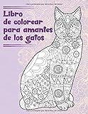 Libro de colorear para amantes de los gatos -