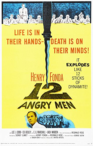 posters for men 12 Angry Men (1957) Movie Poster 24x36