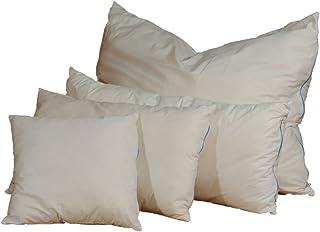 Almohada de lana de oveja, 80 x 80 cm, peso de relleno: 2 kg