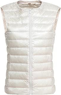 Respeedime Women New Autumn and Winter Vest Coat Lightweight Girls Down Jacket