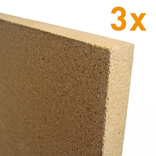 raik V2-30-3x 3x 30mm Vermiculite Platte 400 x 600 mm