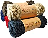 My Doggy Place - Ultra Absorbent Microfiber Dog Door Mat, Durable, Quick Drying, Washable, Prevent Mud Dirt, Keep Your House Clean (Charcoal, Runner) - 152 x 91 cm