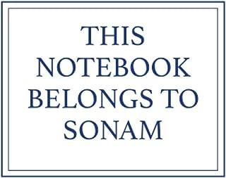 This Notebook Belongs to Sonam