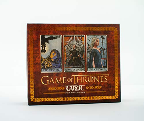 Abrams & Chronicle Books: Game of Thrones Tarot Card Set, 64342, mehrfarbig