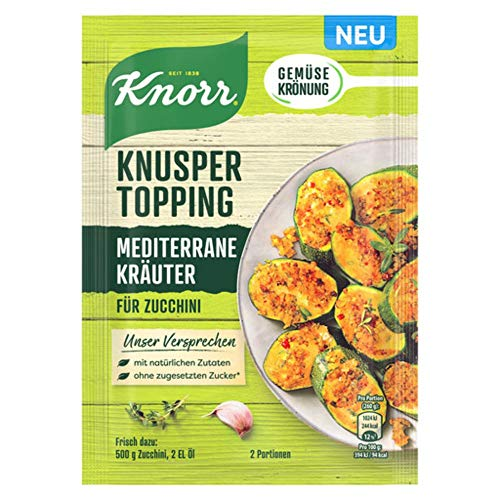 Knorr Knusper Topping Mediterrane Kräuter, 40 g