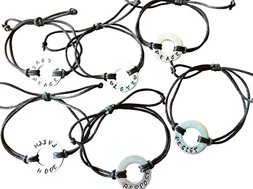 Pay It Forward!! Choose Your Word/Phrase to describe how you feel!! Passionate about Something-Get a MY PERSONAL FEELINGS Bracelet Express your True Intent. Washer Bracelet
