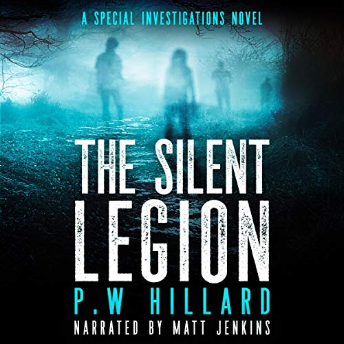 The Silent Legion audiobook cover art