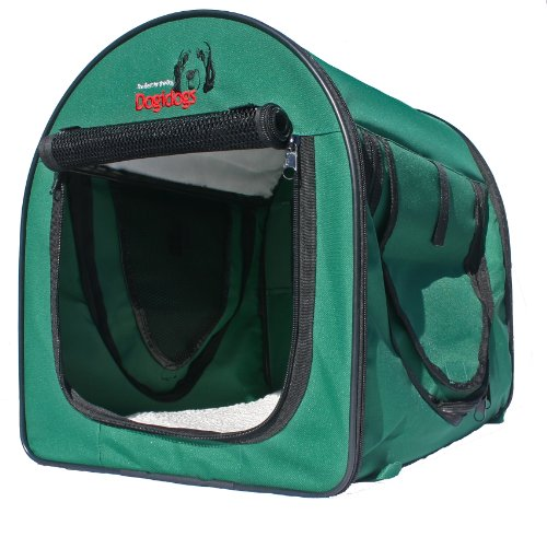 Dogidogs Hundetransportbox faltbar Transportbox für Hunde Hundebox Auto - Dogi Kennel Premium - Größe XL