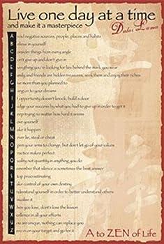 Dalai Lama A To Zen Quotes Motivational Buddhism Buddha Poster Print Picture