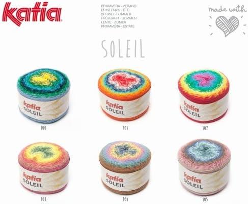 Largo Espectro Cotton-Blend dk-Weight Hilo Soleil Katia