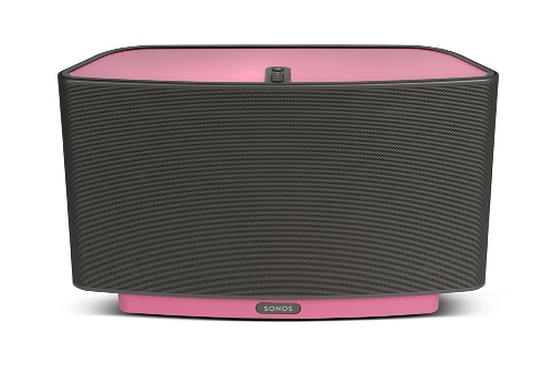 FLEXSON ColourPlay folie voor Sonos Play 5 luidspreker roze Candy Pink Gloss (FLXP5CP1041)