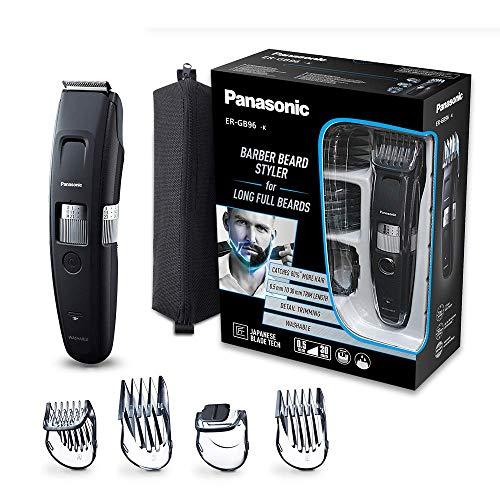 Panasonic Bartschneider ER-GB96 mit kammförmigem Klingendesign, mit 58 Schnittlängen, Bart-Trimmer