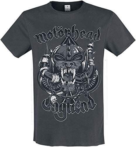 Amplified Motörhead Collection - Snaggletooth Männer T-Shirt Charcoal S
