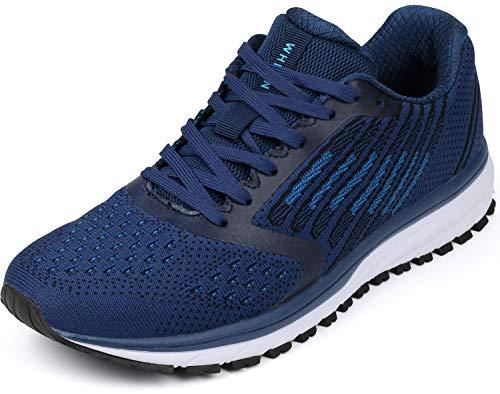 WHITIN Zapatos para Correr Hombre Mujer Zapatillas de Deportes Tenis Deportivas Running...