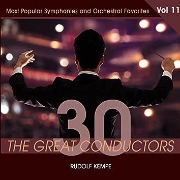 30 Great Conductors - Rudolf Kempe, Vol. 11