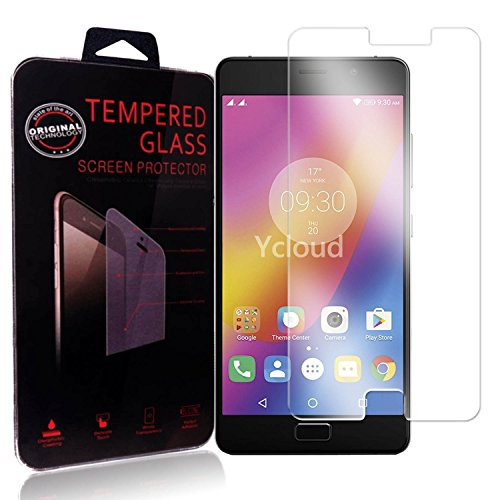 Ycloud Panzerglas Folie Schutzfolie Displayschutzfolie für Lenovo P2 Screen Protector mit Härtegrad 9H, 0,26mm Ultra-Dünn, Abgerundete Kanten