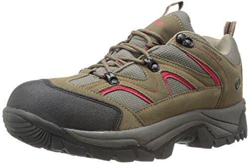Northside Men's Snohomish Low Wide-M Hiking Shoe, Chili Pepper, 9.5 W US