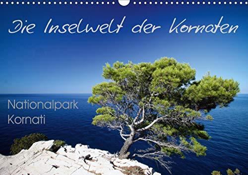 Die Inselwelt der Kornaten (Wandkalender 2021 DIN A3 quer)