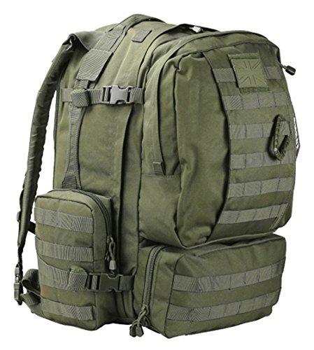 British Army Viking Patrol Assault Pack Tactical Rucksack Molle Reisetasche (60Grün