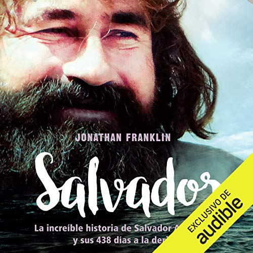 Salvador audiobook cover art