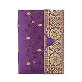 Sari-Notizbuch, 110x 155mm, violett