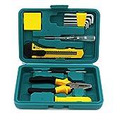 Gift Special Mini Toolbox Set 12 Piezas Herramienta portátil portátil de emergencia para el hogar del automóvil