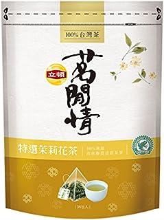 《立頓》 茗間情 茉莉花茶(台湾リプトン-ジャスミン茶)(三角ティーバッグ-36入/包) 《台湾 お土産》 [並行輸入品]