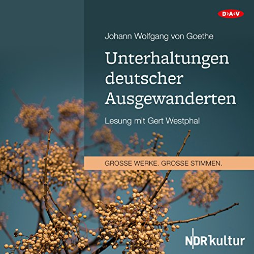 Unterhaltungen deutscher Ausgewanderten Titelbild