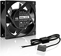 AC Infinity AXIAL 1238W, Muffin Fan, 120V AC 120mm x 38mm High Speed, UL-Certified for DIY Cooling Ventilation Exhaust Projects
