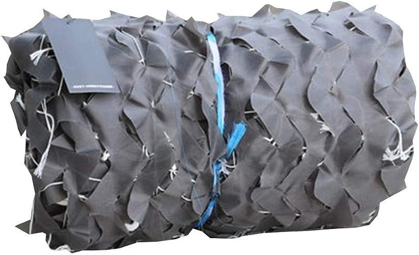 Baches ZXMEI Filet De Camouflage, Filet De Prougeection Militaire en Plein Air for écran Solaire De Camping en Plein Air Caché Filet Décoratif Caché (gris) (Taille   4x8m)