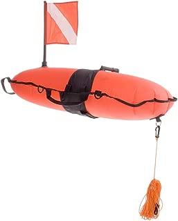 Innovative Scuba Concepts Torpedo Buoy Orange W/LINE