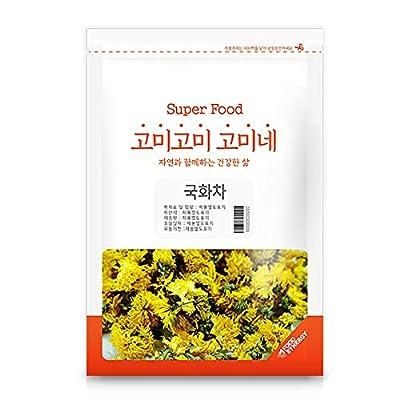 Gomine Korean Chrysanthemum Tea, 30g, Pure Tea, Everyday Tea Resealable 국화차 by Gomine