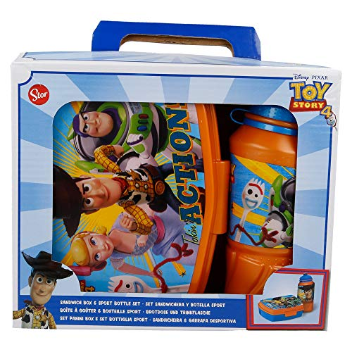 Set SPORTFLASCHE Easy 420 ML, Lunchbox Funny Toy Story 4