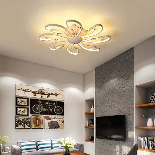 Lámparas de techo Luces de madera maciza Lámparas de techo Lámparas de techo Lámparas de techo para la sala de estar Lámparas de candelabros para el pasillo Lámpara de techo moderna moderna, 78 cm, bl