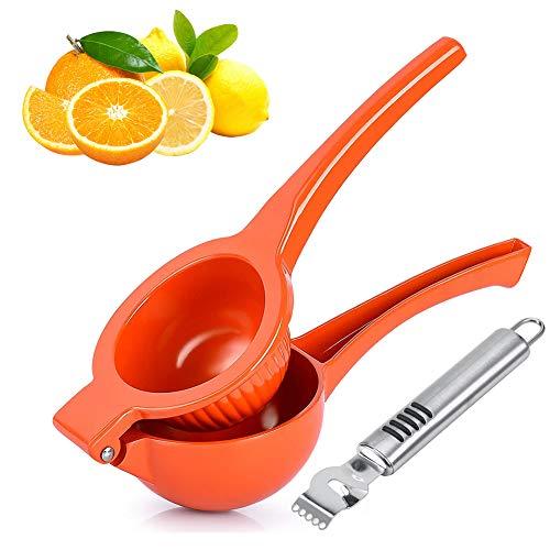 Exprimidor Limón Manual, exprimidor grande de exprimidor de limón con rallador de...