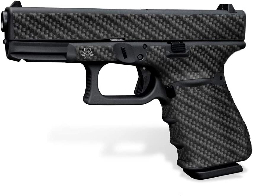 Rubberized Decal At the price of surprise Grip for Glock 23 Gen - 2021 new Fiber Carbon 3