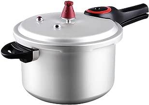 Pressure Cooker 6L 7.5L 9L Pressure Cooker Induction Cooker General Pressure Aluminum Alloy Gas General Stew Soup Steam Cooker Cookers (Size : 9L)