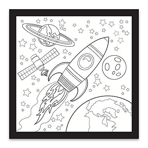 Rico Industries Space Design Color-Me Felt, 12 x 12-inches, CMF122481CS