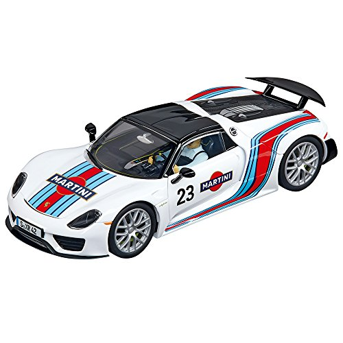 Carrera Digital 132 - 20030698 - Voiture De Circuit - Porsche 918 Spyder - Martini Racing No.23