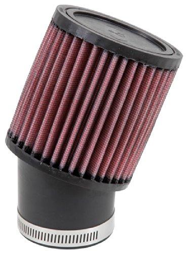 RU-1750 K&N Universal-Luftfilter zum Anklemmen, 6,4 cm, 20 Grad FLG, 9,5 cm Außendurchmesser, 10,2 cm H (Universal-Luftfilter)