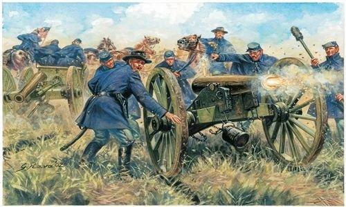 Italeri 510006038 - 1:72 Union Artillerie