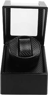 Ljudisolerande kolfiberklockbox PU läder för armbandsur för kvinnor och män Mekanisk klocka 100-240V [MICH], automatisk ti...